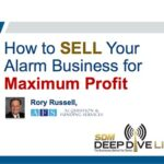Title Slide for AFS webinar about how to maximize profits from alarm company sales