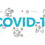 illustration of Covid-19 topic