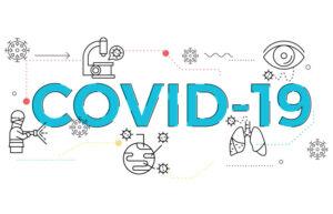 illustration of Covid-19 topic